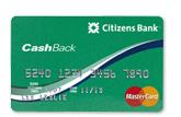 CashBack Platinum MasterCard