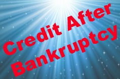 building credit after a bankruptcy