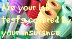 Lab tests insurance coverage