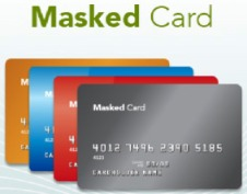 masked credit cards