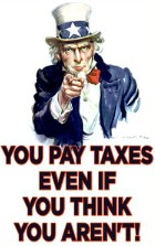 on what you pay taxes